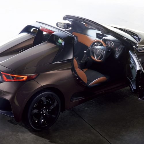 ホンダ・S660 α 特別仕様車「Bruno Leather Edition」