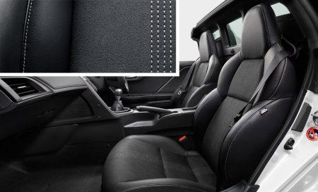 ホンダ S660 α|スポーツレザーシート(ブラック)