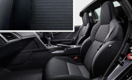 ホンダ S660 β|スポーツファブリックシート(ブラック)